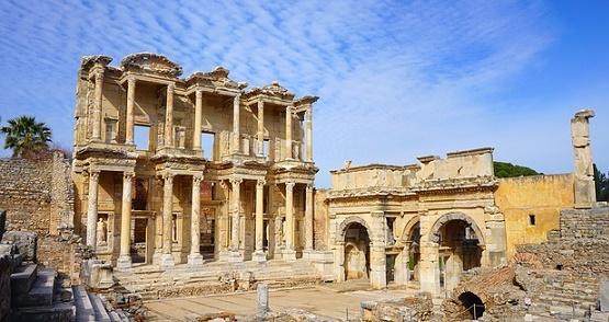 historische stad Efeze Turkije